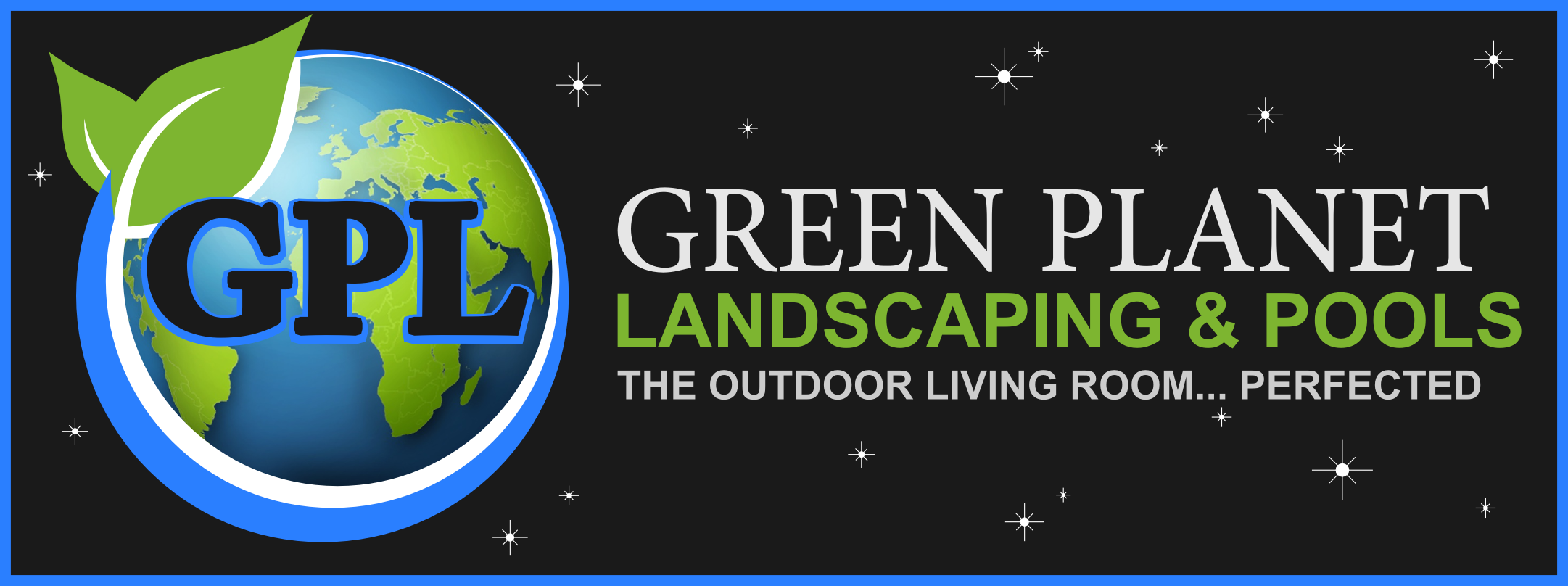 Green Planet Landscaping and Pool Design Logo