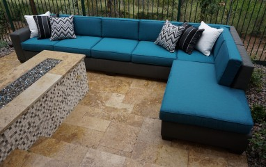 8002 Rattan Sectional