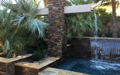 custom water feature company las vegas