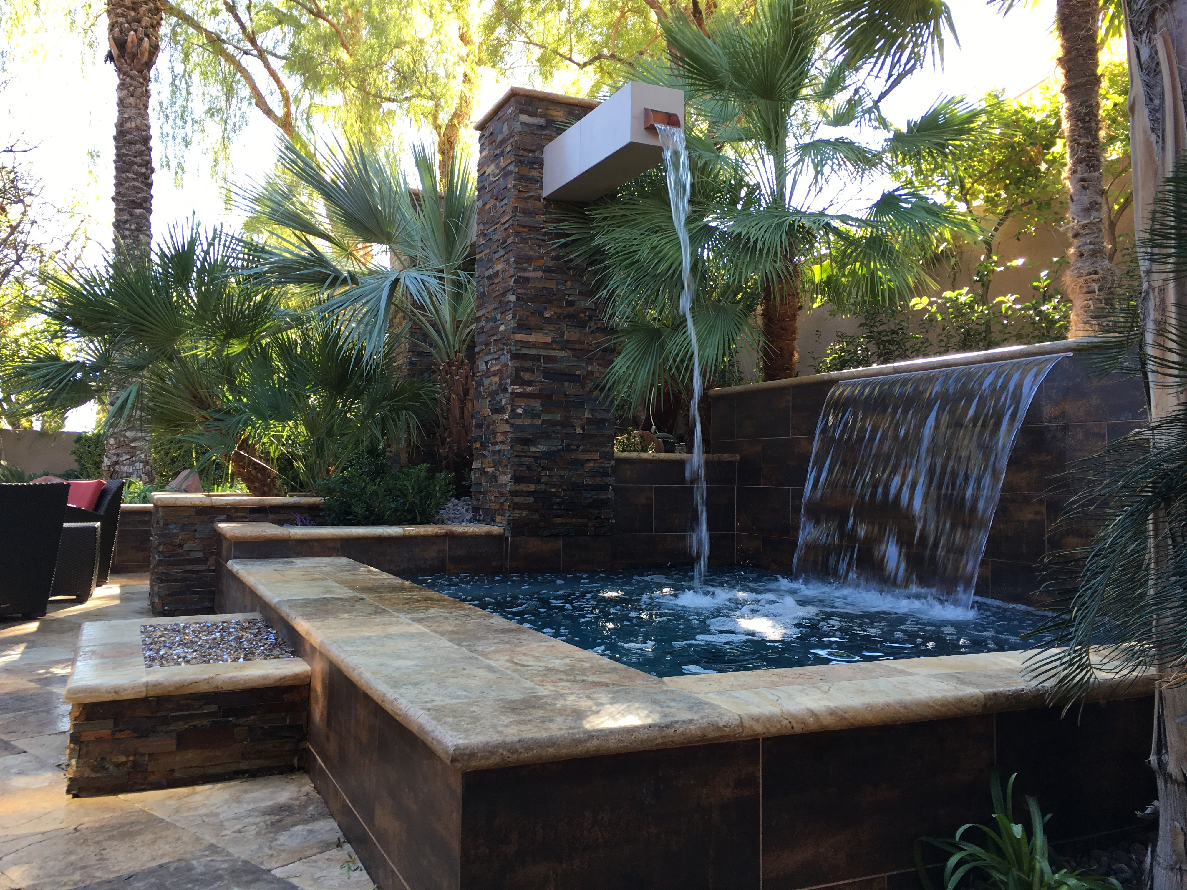 Water Features las vegas design pany Green Planet