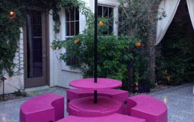 Morracan Courtyard – Landscape Design by Damon Lang, Owner of Green Planet Landscaping and Pools Inc. Las Vegas NV