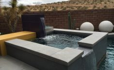 pool design - landscape design las vegas - green planet landscaping - right angle